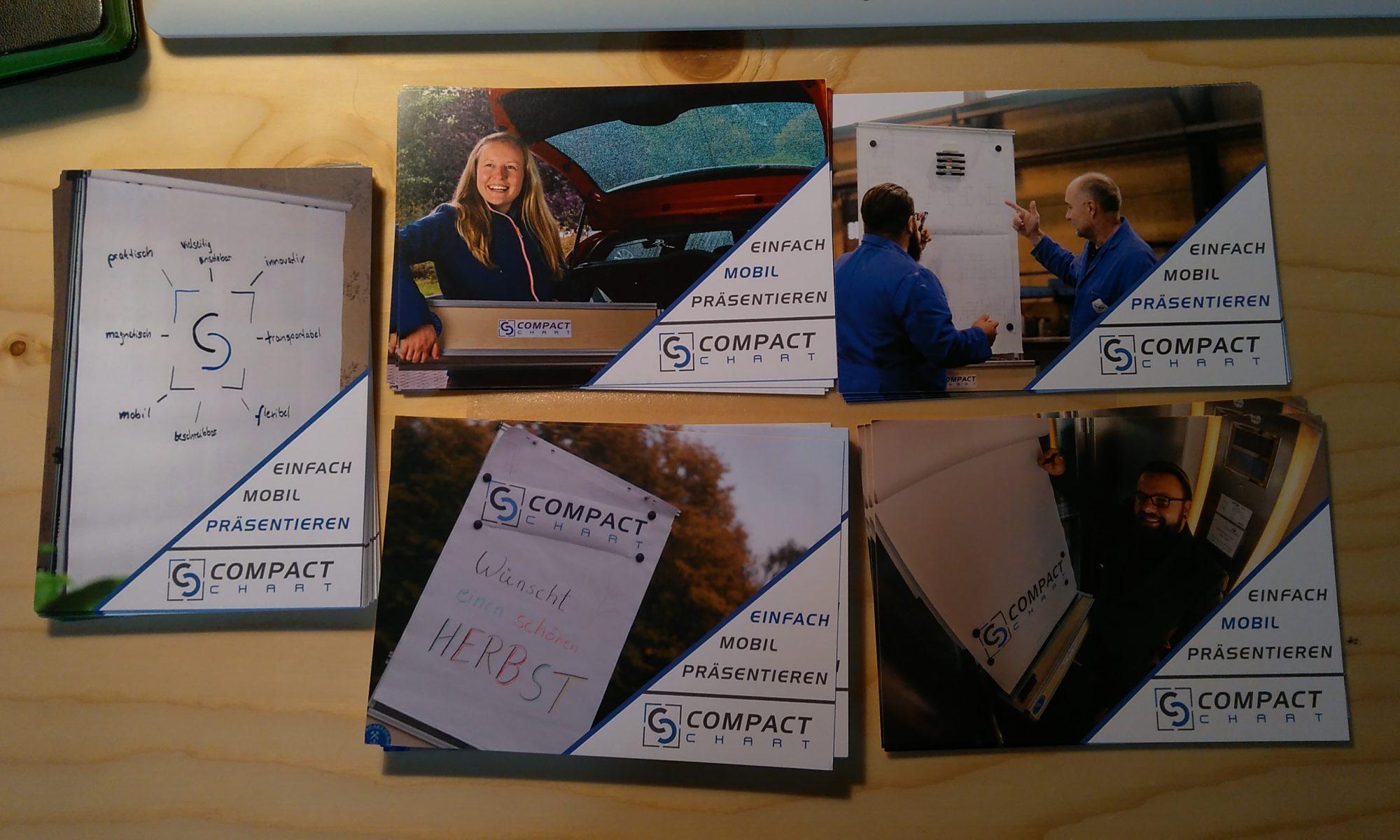 Postkarten CompactChart