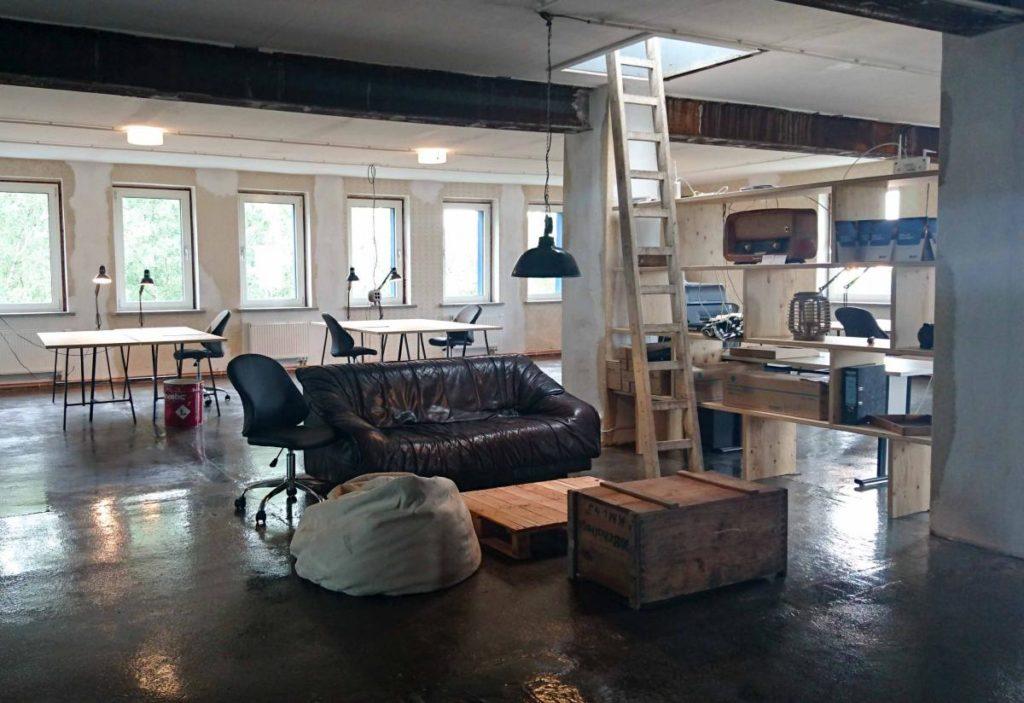 Der SAXEED Inkubator im FreiWerk Coworking Space