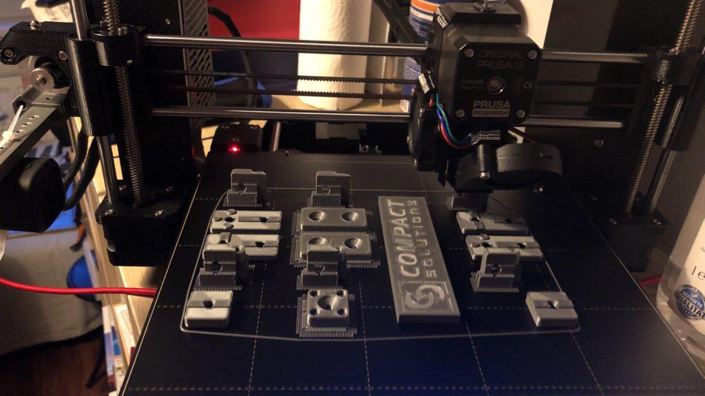 3D-Drucker bei der der Arbeit